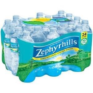 Zephyrhills Water Bottled Drinking 16 9 Oz Bottles 24 Pack