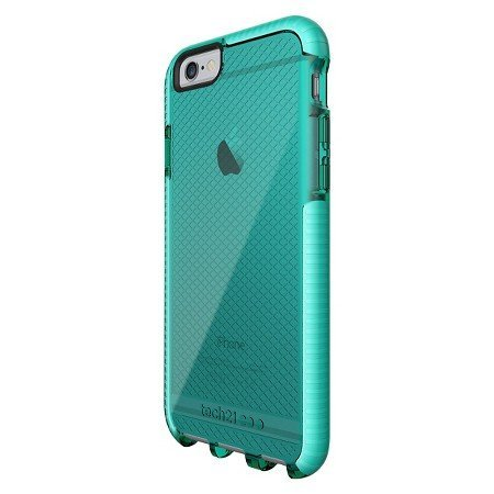 tech21 evo check case for apple iphone 6 plus 6s plus 5 5 aqua green oem new. Black Bedroom Furniture Sets. Home Design Ideas