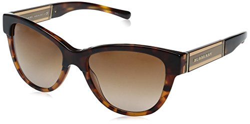 Burberry Women's 0BE4206 Dark Tortoise On Transparent Tortoise/Transparent Brown/Gradient - Us Burberry.com