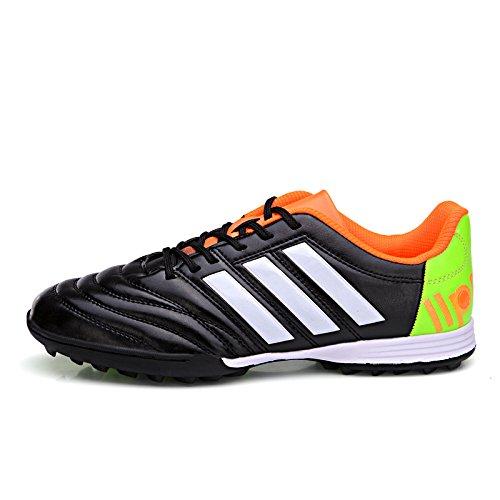 Xing Lin Chaussures De Football Chaussures De Football Chaussures De Football Tf Patinage Étudiants Hommes Et Femmes Jeunes Enfants Pelouse En Gazon Artificiel, Respirant Chaussures 38, Noir