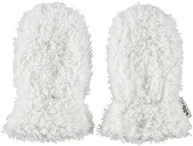 BARTS Moufles Naissance en Fourrure Polaire Blanc Ivoire Bébé Garçon du 3 au 12 Mois BARTS Elisa Mitts Gants Mixte bébé Blanc (Bianco 10) 15-0000000394