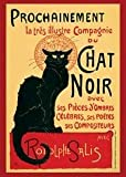 1art1 1469 Poster Théophile Alexandre Steinlen Tournée du Chat Noir 91 X 61 cm