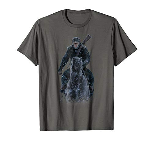War for the Planet of the Apes Teaser Poster T Shirt (Planet Of The Apes Shirt Men)