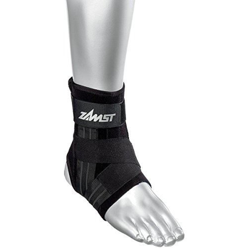 Zamst A1 Moderate Support Ankle Brace Black Medium-Right