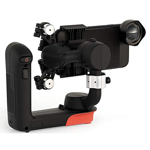 Freefly Movi Cinema Robot Handheld 3 Axis Gimbal Stabilizer for iPhones and Smartphones + Freefly Movi Adjustable Counterweight + ProOptic Cleaning Kit + Microfiber Cloth