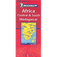 Central South and Madagascar: Central South and Madagascar (Michelin National Maps)