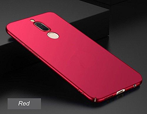 SMTR Huawei Mate 10 Lite (5.9) Funda, Calidad Premium Cubierta Delgado Caso de PC Hard Gel Funda Protective Case Cover para Huawei Mate 10 Lite -Azul rojo