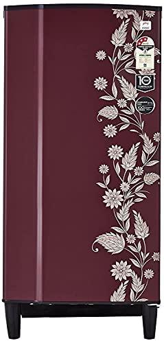 Godrej 196 L 3 Star   2019   Direct Cool Single Door Refrigerator RD 1963 PT 3.2 DRM SCR, Scarlet Dremin