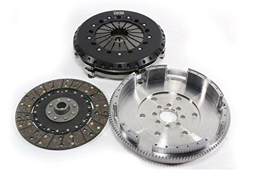 DKM MS Twin Disc Clutch Kit w/Flywheel for BMW E34/E36/E39/E46/Z3/Z4 6 Cyl ()