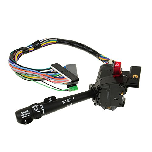 Cruise Control Windshield Wiper Arm Turn Signal Lever Switch for Chevy GMC (Truck Windshield Wiper Arms)