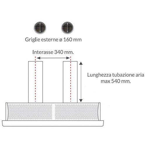 Aire acondicionado Climatizador Prestige 11000 BTU - cálido frío sin unidad externa: Amazon.es: Hogar