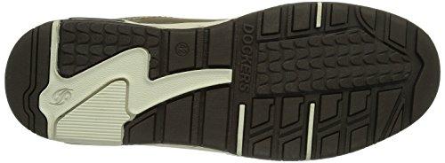 Dockers 350552-007020 - Zapatillas de cuero para hombre marrón - Braun (cafe  020)