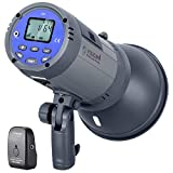 Neewer Vision 4 300W Li-ion Battery Powered Outdoor Studio Flash Strobe (700 Full Power flashes with 2.4G System, Trigger included), Bowens Mount for Video Location Photography