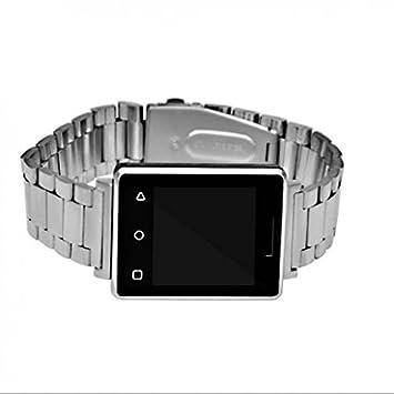 Bluetooth Smart reloj deportivo, diseño duradero, pantalla a color, presión arterial medida,