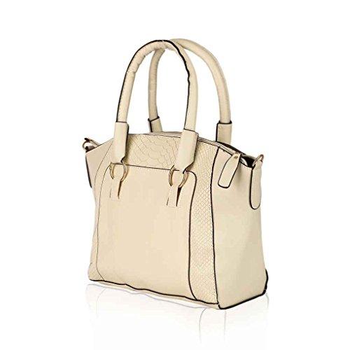 Women Single Solid Pillow Messenger Crossbody Beige Bags Bag Shoulder Pu Boston Of Lady Leather Fashion Republe Shape Tote 6wxYngI0Pn