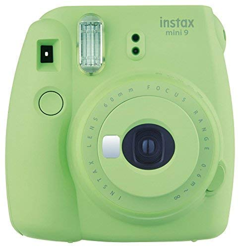 Fujifilm Instax Mini 9 Instant Camera - Lime Green(Renewed)