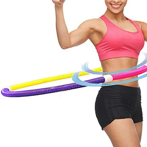 Cicitop Soft Spring Hula Hoop for Slimming Sport,Thin Waist Fitness and Health Care, Great Gift for Children and Sport Lovers.