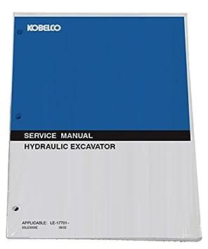 kobelco sk300 iii sk300lc iii hydraulic excavator workshop repair rh amazon ca Kobelco Sk260lc-10 Kobelco Sk170-10