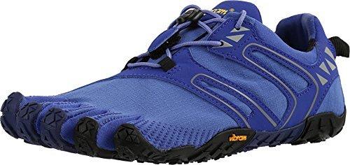 Vibram FiveFingers Womens V-Trail Barefoot Shoes & Toesock Bundle Purple / Black U8fah6b
