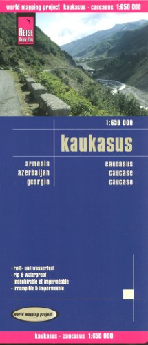 Caucasus 1:650,000 (incl. Armenia, Georgia, Azerbaijan) Travel Map REISE by Reise Knowhow (2014-08-02)