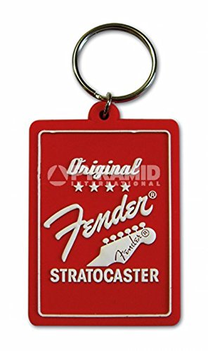 Llavero de goma - Fender original Stratocaster (py): Amazon ...