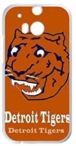 Detroit Tigers Case Cover for HTC One M8, Laser Technology Cases