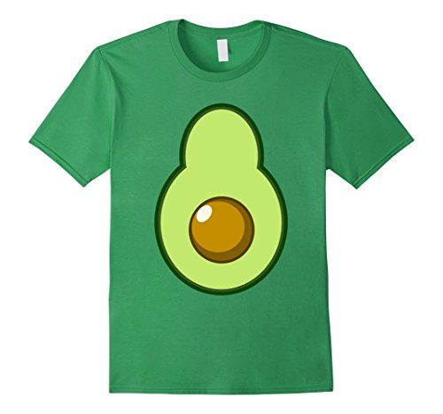 Mens Avocado Costume Halloween Funny Idea DIY T-Shirt XL (Do It Yourself Halloween Costume Ideas Adults)
