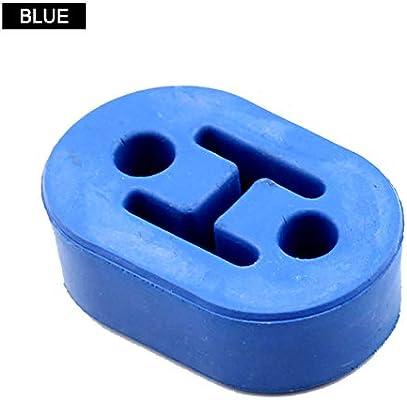 MeterMall Soporte de escape Aislante de goma Ojal de suspensi/ón Buje 1//2Soporte de varilla azul