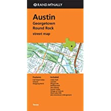 Rand Mcnally Folded Map: Austin, Georgetown & Round Rock Street Map