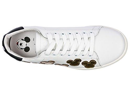Moa Master Of Arts Damesko Sneakers Kvinders Lædersko Sneakers Hvid QPrT6