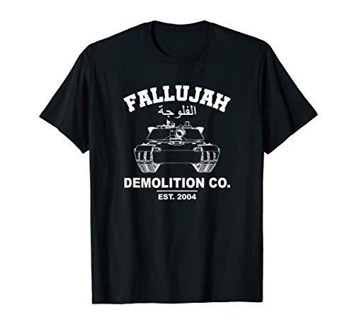 Battle of Fallujah OIF Veteran T-Shirt