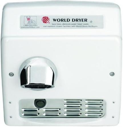 World XRA5-Q974-208-230v Hand Dryer Automatic 208//230V