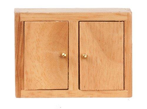 Dollhouse Miniature 1:12 Scale OAK Kitchen Wall Cabinet #D3777nd