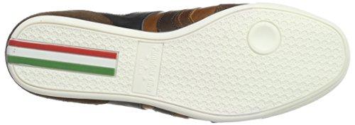 Pantofola Doro Herren Vasto Uomo Sneaker Braun Basso (guscio Di Tartaruga)