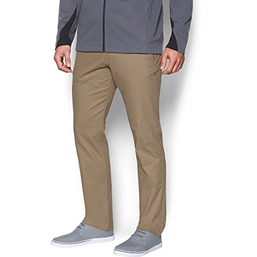 Under Armour Men's Performance Chino – Tapered Leg, Canvas/Canvas, 40/30 (Armour Short Performance Mens Under)