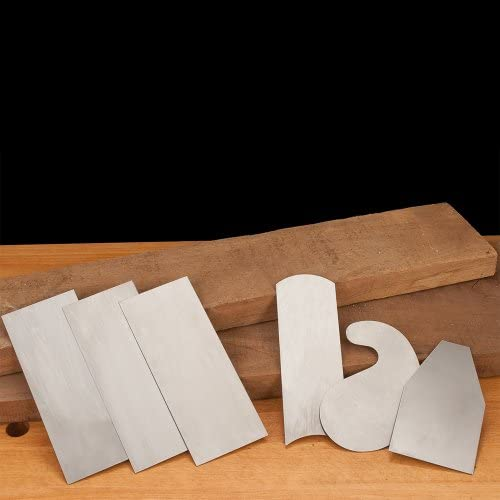 6 PIECE CABINET SCRAPER SET By Peachtree Woodworking - PW2253
