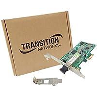 Transition Networks Fiber Gigabit Ethernet Network Interface Card - PCI Express - 1 x LC - 1000Base-SX - Internal - Low-profile - N-GXE-LC-01