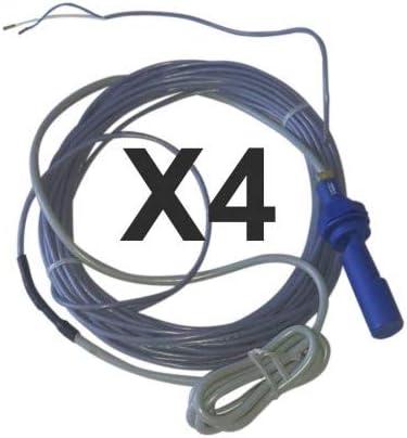 Pack de 4 flotadores clavijas para Lineo 4 FP: Amazon.es: Jardín