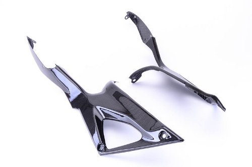 Bestem CBDU-1098-TSP-M Carbon Fiber Tank Side Panels for Ducati 1098 848 1198 ()
