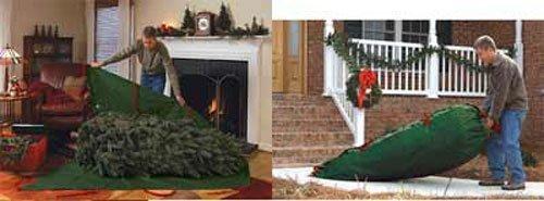 amazoncom live christmas tree disposal bags 3000 home kitchen - Christmas Tree Removal