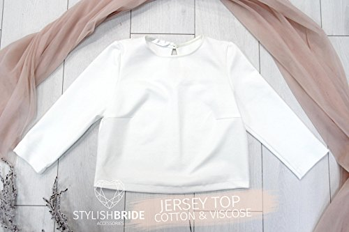 Buy ivory evening tops
