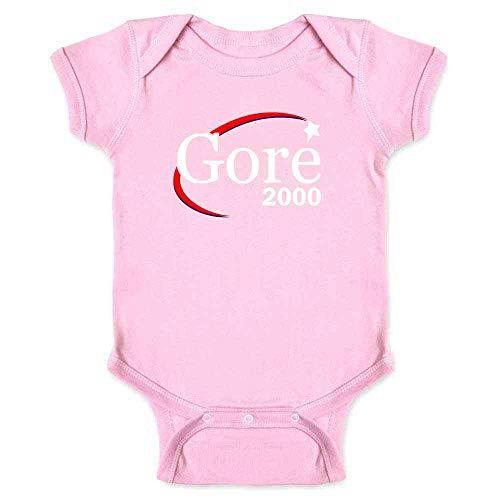 Al Gore for President Campaign Election 2000 Retro Pink 18M Infant Bodysuit