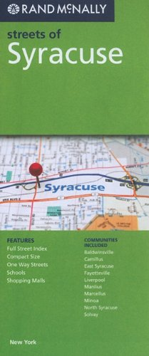 Rand McNally Streets of Syracuse: New York