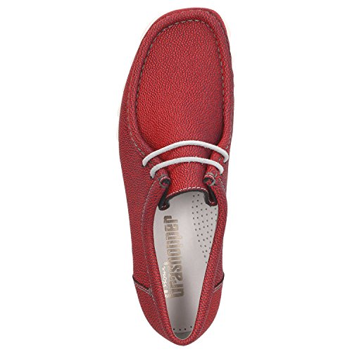 Sioux Men's Lace-Up Flats red red 0Xse6gKLfc