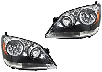 Tiffin Phaeton 2011-2014 RV Motorhome Pair Replacement Headlights Head Lights Front Lamps Left /& Right