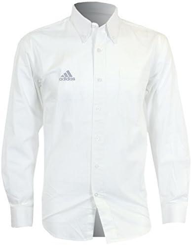 adidas Hombre Essentials Clásicas Blancas Camisa De Algodón Manga Larga (189838) - Chica: Amazon.es: Deportes y aire libre