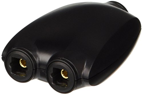 C2G 27027 Toslink Digital Audio Splitter, Black