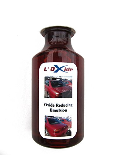 Oxide Reducing Emulsion to Restore Faded, Oxidized or Sun Damaged Car Paint, Peeling Clear Coat and Dull Headlights in a Simple DIY Operation. Easier to apply than wax, needs no polishing (Best Car Wax For Faded Paint)