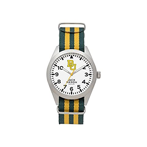 Baylor Bears Men's Striped NATO Strap Watch (Baylor Watches)