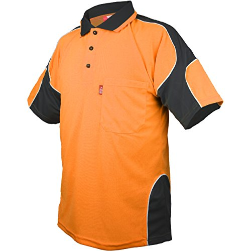 Force Performance Polo - Men's Aeros Performance Short Sleeve Quick-Dry Athletic-Fit Polo